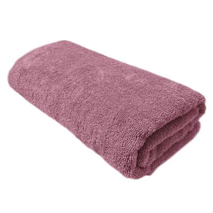 Махровое полотенце АЗ Моно 70*140 брусн