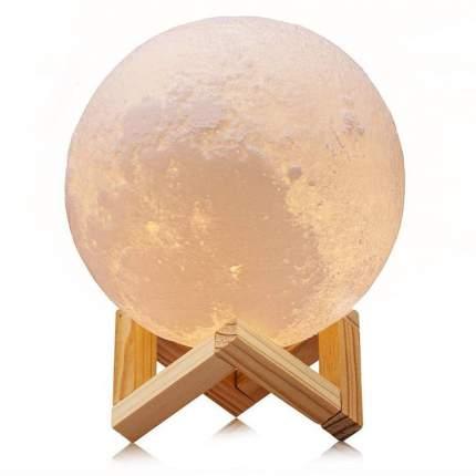 Светильник ночник 3D шар Луна Moon Lamp 15 см без пульта
