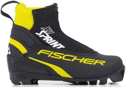 Ботинки для беговых лыж Fischer Snowstar 2021, black/yellow, 30