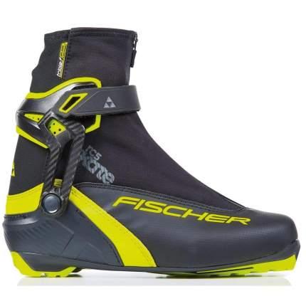 Ботинки для беговых лыж Fischer Rcs Skate 2021, черные/желтые, 45