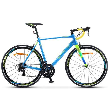 "Велосипед Stels XT280 V010 2020 21.5"" синий/желтый"