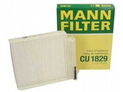 Фильтр воздушный салона MANN-FILTER CU1829