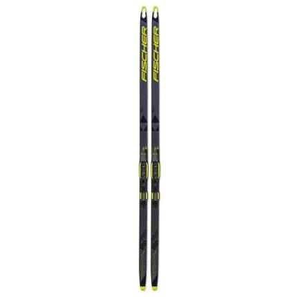 Беговые лыжи Fischer Speedmax Sk Hole Jr IFP 2021, черные/желтые, 166 см