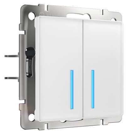 Сенсорный выключатель Werkel двухклавишный Умный дом W4520601