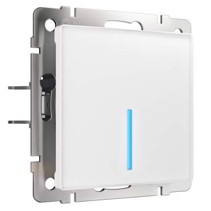 Сенсорный выключатель Werkel одноклавишный с подсветкой белый W4510101
