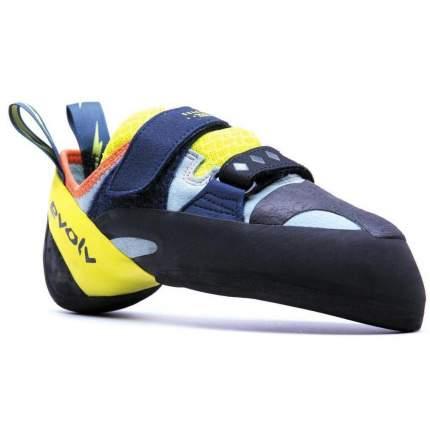 Скальные туфли Evolv 2020 Shakra aqua/neon yellow 5,5 UK