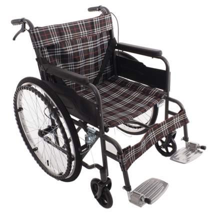 Кресло-коляска облегченная с дышащей тканевой обивкой MET 875