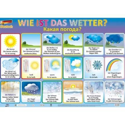 """Учебные плакаты """"Какая погода?"""""""