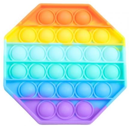 Игрушка-антистресс Pop It Вечная пупырка восьмиугольник