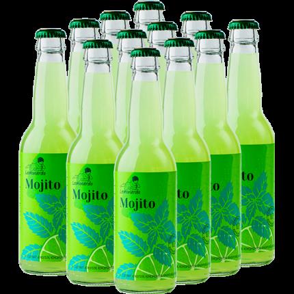 Натуральный безалкогольный мохито / Lemonardo Mojito, 330мл. 12шт.