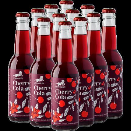 Натуральный вишневый лимонад / Lemonardo Cherry Cola, 330мл. 12шт.