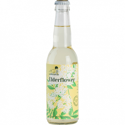 Натуральный лимонад из цветов бузины / Lemonardo Elderflower, 330мл. 12шт.