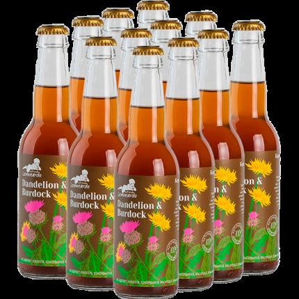 Натуральный лимонад Одуванчик и Лопух / Lemonardo Dandelion & Burdock, 330мл. 12 шт.
