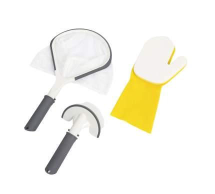 Bestway, Набор для чистки СПА-бассейнов, сачок, щетка, чистящая варежка, 60310 BW