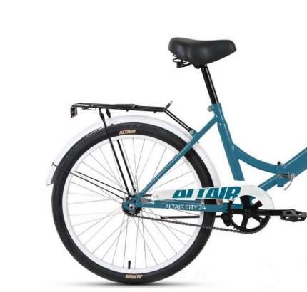 "Велосипед Altair City 24 2021 16"" голубой/белый"