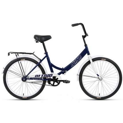 "Велосипед Altair City 24 2021 16"" темно-синий/серый"