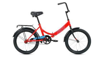 """Велосипед Altair City 20 2021 14"""" красный/голубой"""