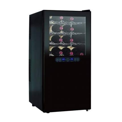 Винный шкаф GASTRORAG JC-68DFW Black