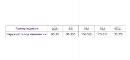 Тривес Бандаж-трусы дородовый р.6/XL Т-1160