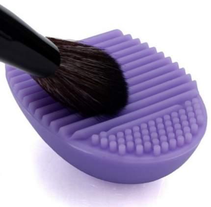 Силиконовая перчатка для чистки косметических кистей Brush egg