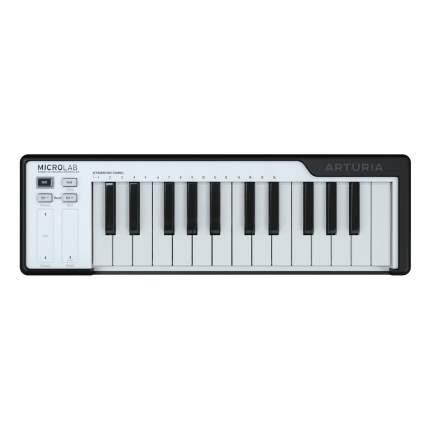 MIDI-клавиатура Arturia Microlab черная