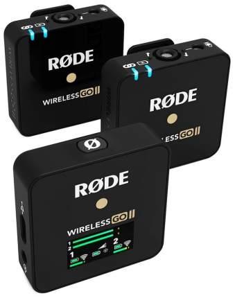 Радиосистема RODE Wireless GO II черный