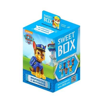 Мармелад Sweet box Paw Patrol с коллекционной игрушкой; 10 г