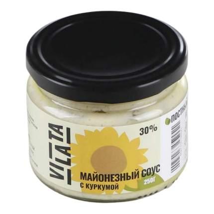 Майонезный соус Vilata с куркумой 30% 250 г
