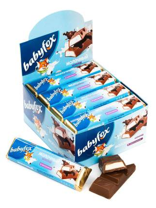 BabyFox Шоколад молочный, 30шт,47гр