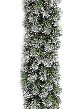 Хвойная гирлянда Triumph tree Колорадо заснеженная 73928 (387784) 270 см