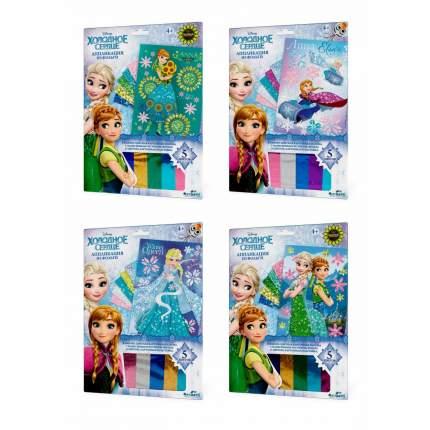 Набор Для Творчества Disney Frozen Аппликация Из Фольги Эльза И Анна 4 Вида Origami