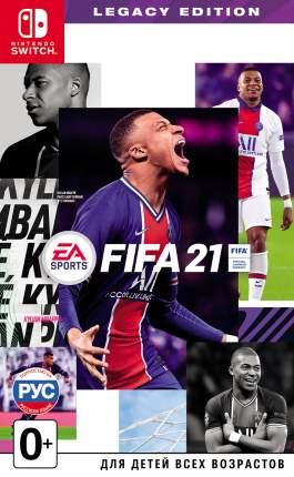 Игра FIFA 21. Legacy Edition для Nintendo Switch