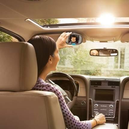 Зеркало контроля за ребёнком в автомобиле Brica munchkin dual sight mirror