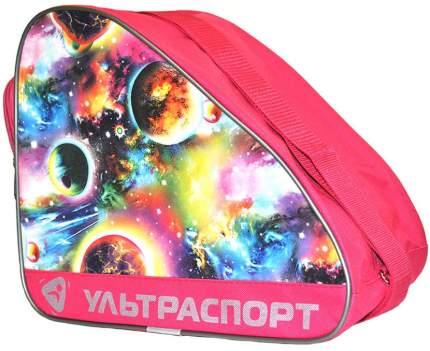 Сумка для коньков детская ULTRASPORT планеты розовые(YTH)