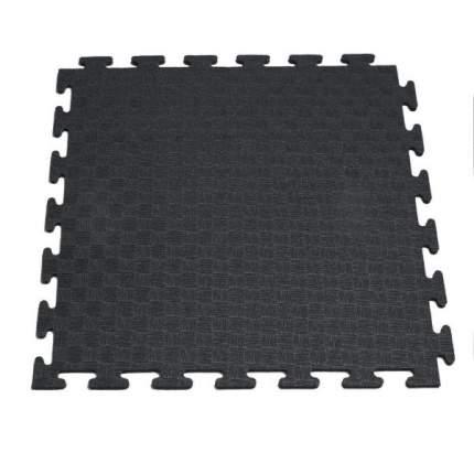 Маты - пазлы для фитнесса и тренажеров, 1 элемент(черный)