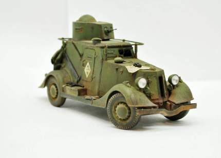 Модель сборная Советский легкий бронеавтомобиль БА-20 ARK-models 35004