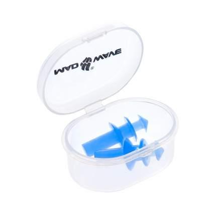 Беруши для плавания MadWave синие