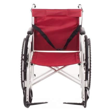 Кресло-коляска с тормозами для сопровождающего и алюминиевой рамой MET 875AL