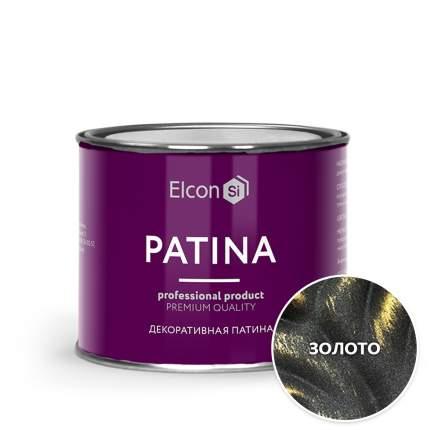 Декоративная патина Elcon Patina Золото 0,2 кг