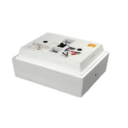 Инкубатор автоматический Золушка на 98 яиц, белый