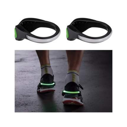 Зажим для обуви Paulmann LED Черный/Зеленый Пластик Набор 2шт. Батарея 70972