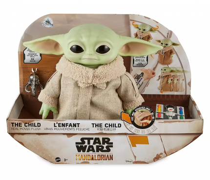 Интерактивная игрушка Star Wars Mattel Малыш Йода The Child Mandalorian