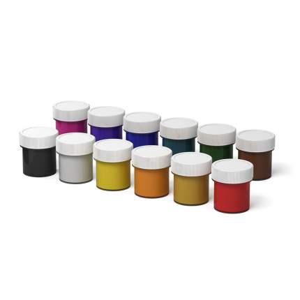 Гуашь ArtBerry® с УФ защитой яркости 12 цветов по 20мл