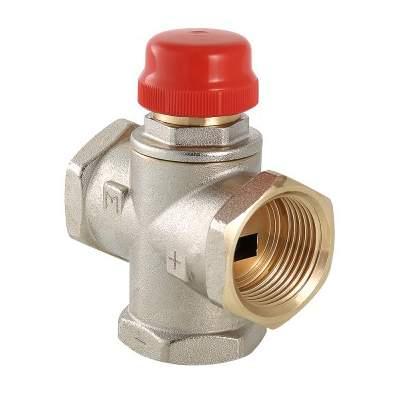 """Трехходовой термостатический смесительный клапан 1"""" Valtec VT.MR01.N.0603"""
