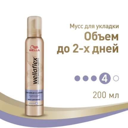 Мусс Wella Wellaflex Экстрaсильная фиксация 200 мл