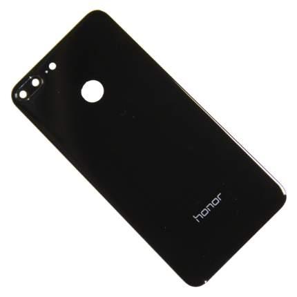 Задняя крышка для Huawei Honor 9 Lite,9 Lite Premium со стеклом камеры <черный> (OEM)
