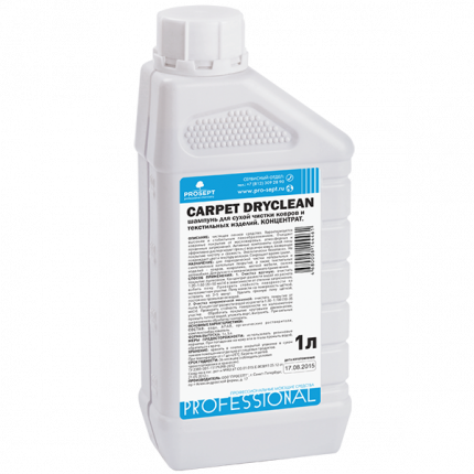 Шампунь для сухой чистки ковров и текстильных изделий Prosept Carpet DryClean , 1 л