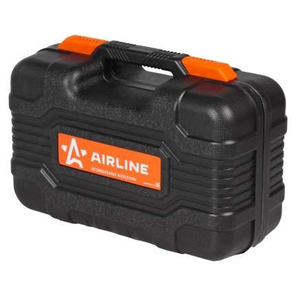 Компрессор TORNADO S + инстр(2отверт., ремкомп.б/к шин, нож, плоcкогуб.)AIRLINE CA-020-01N