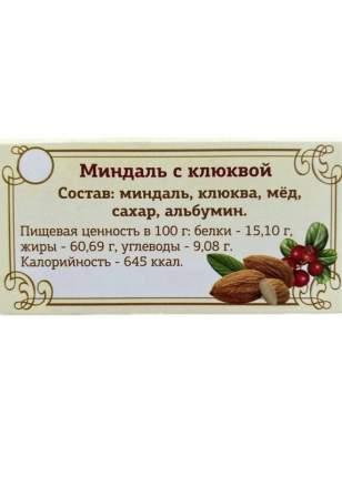 Туррон Миндаль с клюквой 100г