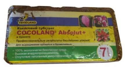 Грунт для террариума Cocoland Absolut Plus, брикет, кокос, 7 л.